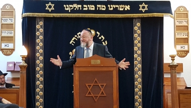Meade Hill - Chief Rabbi Mirvis